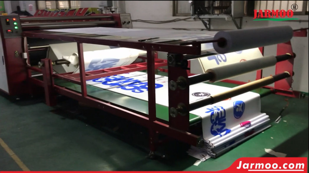 Sublimation Heating Tranfer  Printing Machine for Flags and A Frame Banners