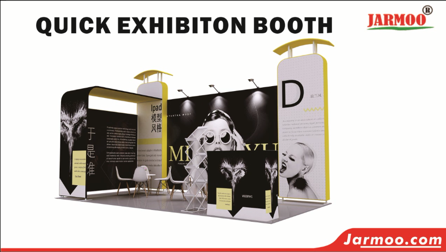 Promotion Tradeshow Quick Exhibiton Booth Display Modular