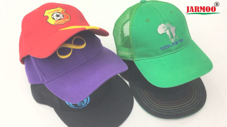 6 Panel Outdoor Sports Embroidery Cotton Baseball Cap Hats