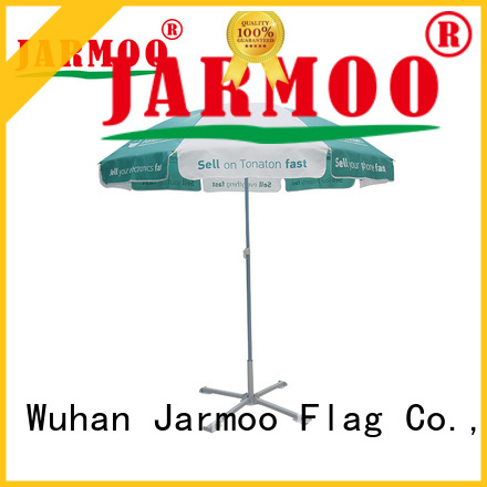 Jarmoo eco-friendly flying banner personalized for business