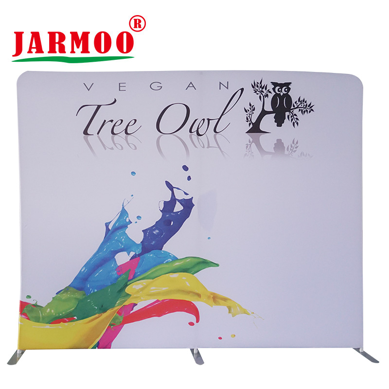 Jarmoo eco-friendly roll up banner stand customized for business-1