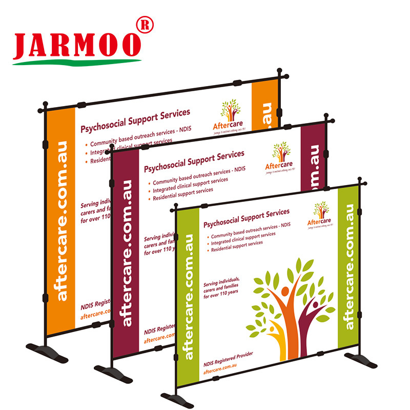 Custom Printed Advertising Telescopic Banner Stand