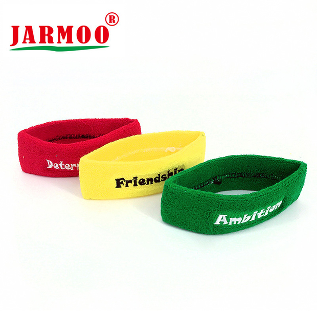 Custom Logo Promotion Sports Mens Sweat Headbands