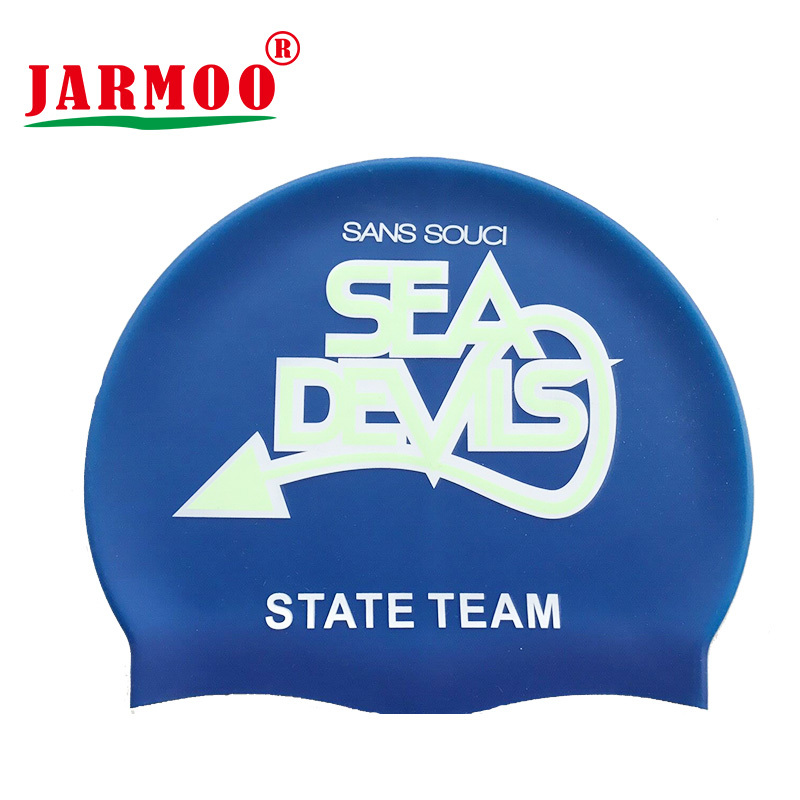 Custom Logo Advertising Silicon Swimming Cap