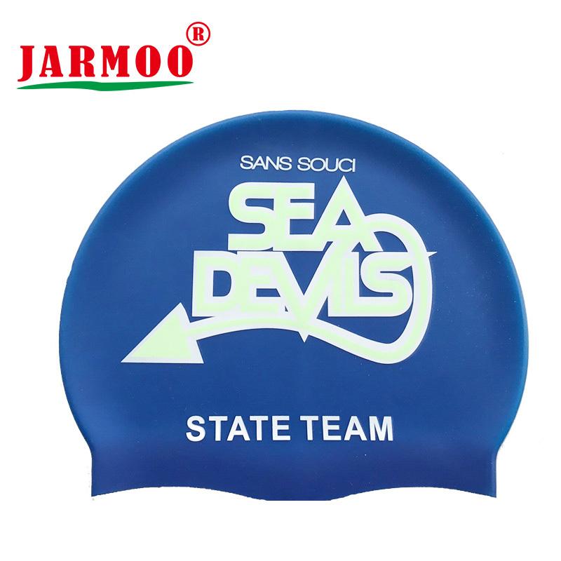 Custom Logo Advertising Silicon Swimming Cap
