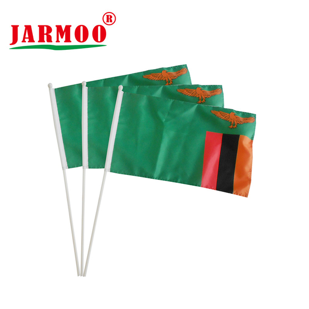 Custom Advertising Event Sports Club Campaign Hand Flags