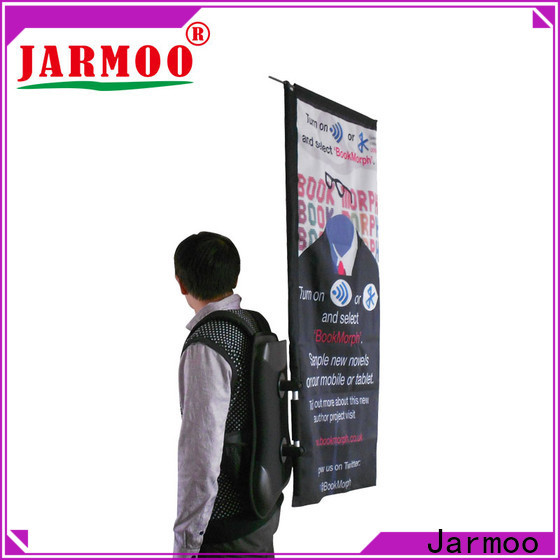 recyclable advertising flags cheap supplier for promotion