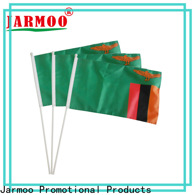 Jarmoo quality felt flag wholesale bulk production
