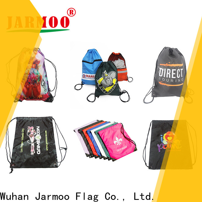 Jarmoo drawstring bag custom logo series bulk production