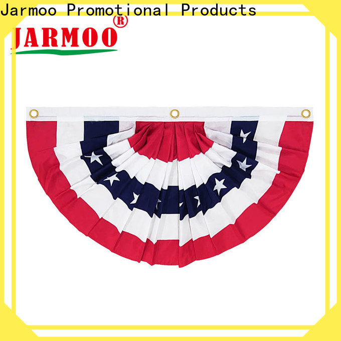 Jarmoo eco-friendly plastic flag bunting factory on sale