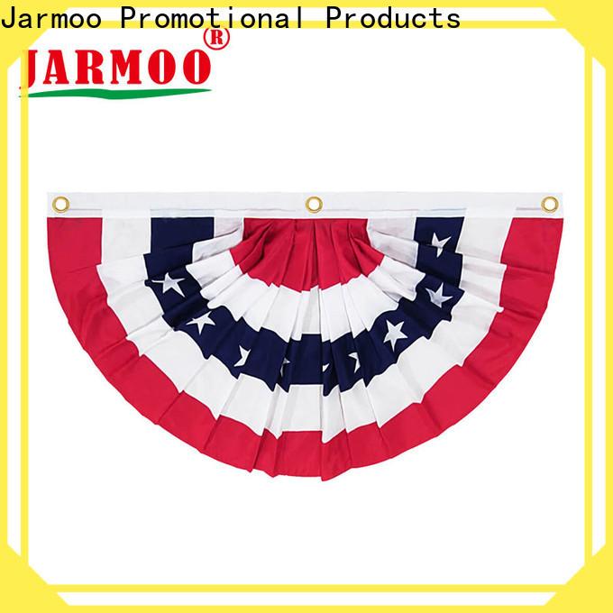 Jarmoo eco-friendly plastic flag bunting factory on sale