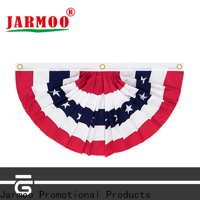 Jarmoo popular personalised flags with good price bulk production
