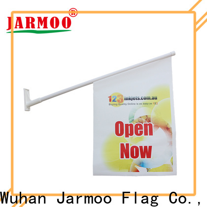Jarmoo personalised hand held flags factory price for marketing
