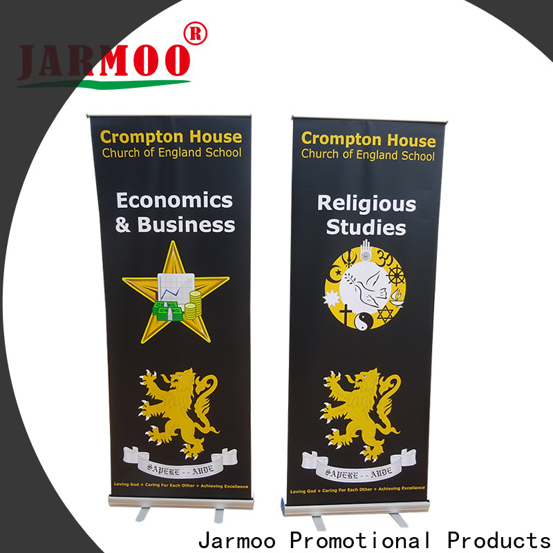 Jarmoo fabric backdrop personalized for marketing