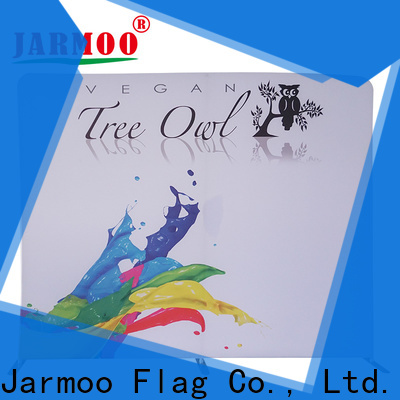 Jarmoo eco-friendly roll up banner stand customized for business