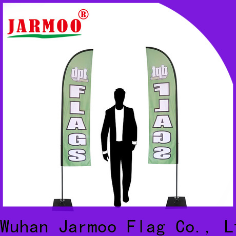 eco-friendly bunting flags banner personalized for business