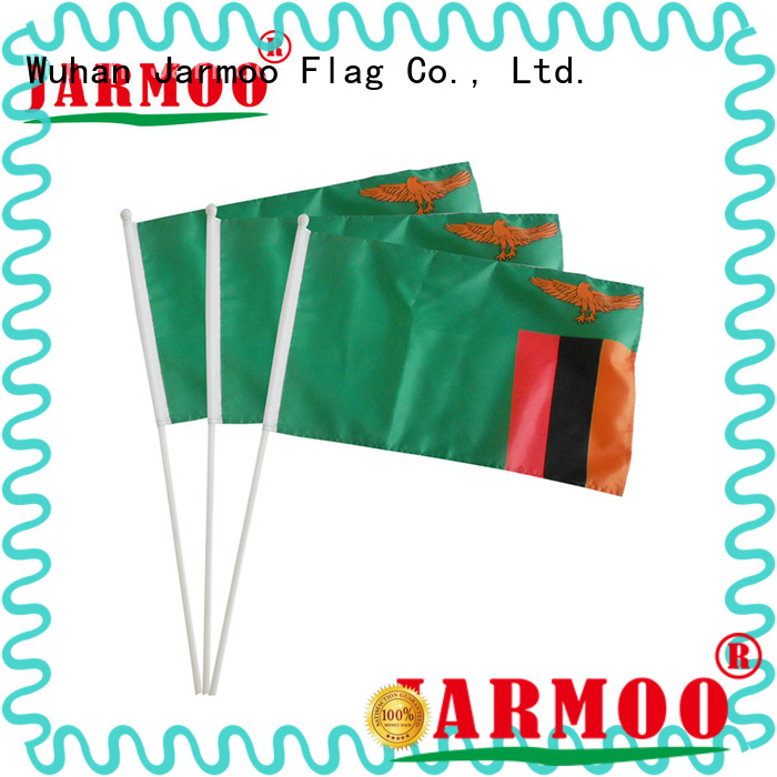 recyclable custom flag design for promotion