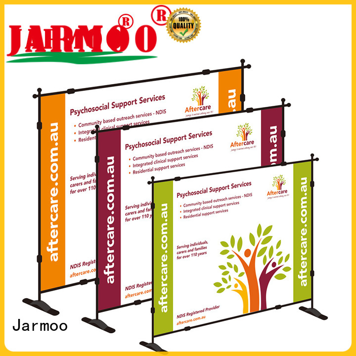 Jarmoo recyclable roll up banner 100x200 series for business