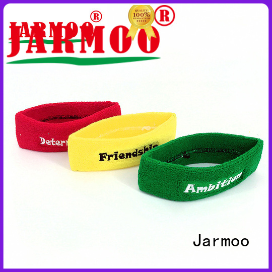 Jarmoo jersey tube scarf personalized for business