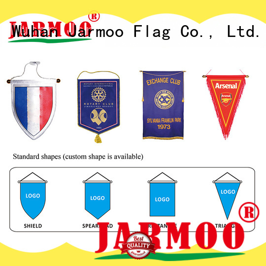 Jarmoo custom team flags from China on sale