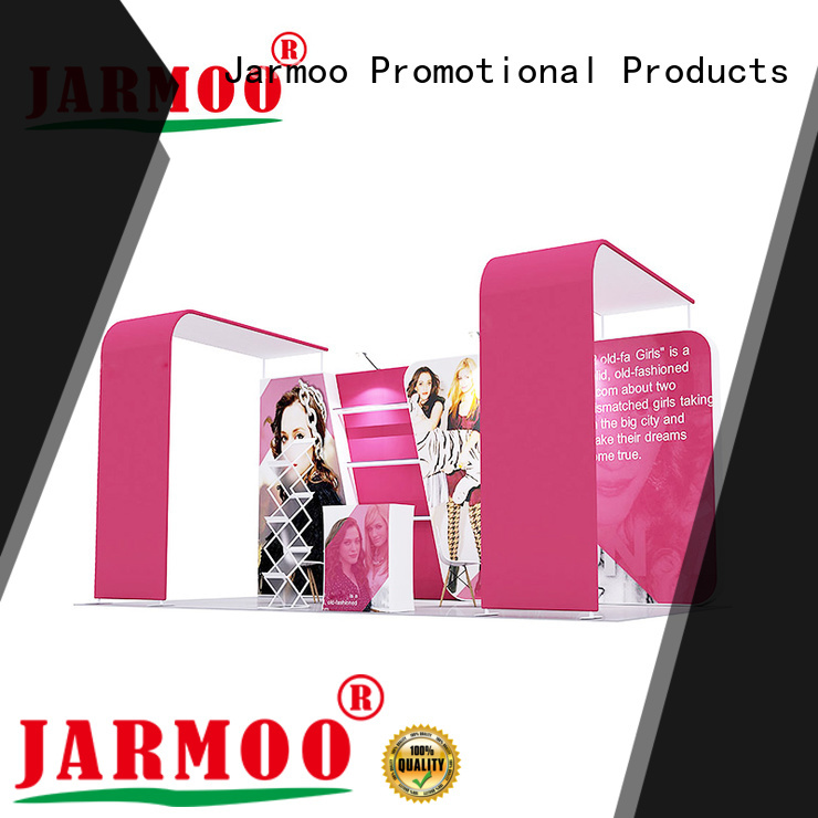 Jarmoo exhibiton booth supplier for promotion