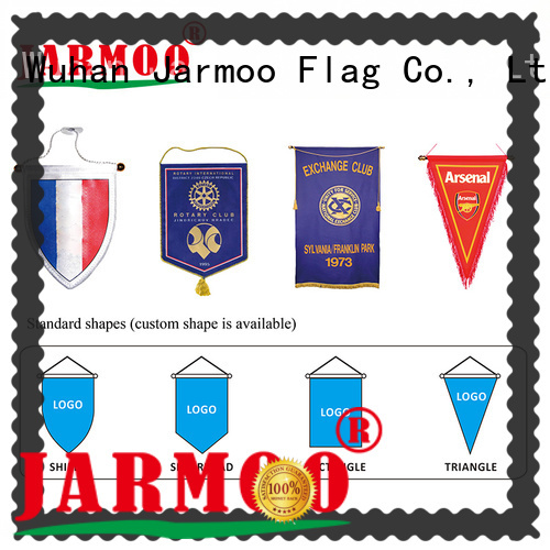 Jarmoo durable flag bunting customized for business