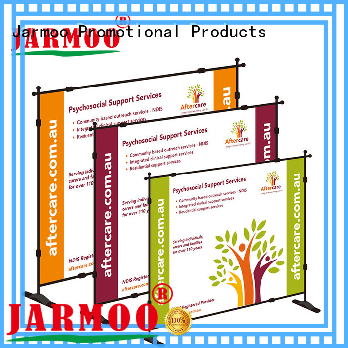 practical banner walls design for promotion