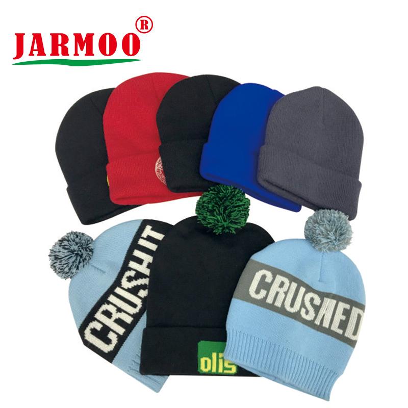 Custom Jacquard Embroidery Winter Warm Acrylic Beanie