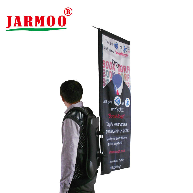 Custom Moving Advertising Promotion Backpack Flag