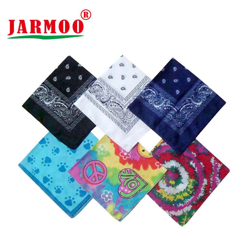 Custom Printed 100% Cotton or Polyester Cotton Cheap Bandanas