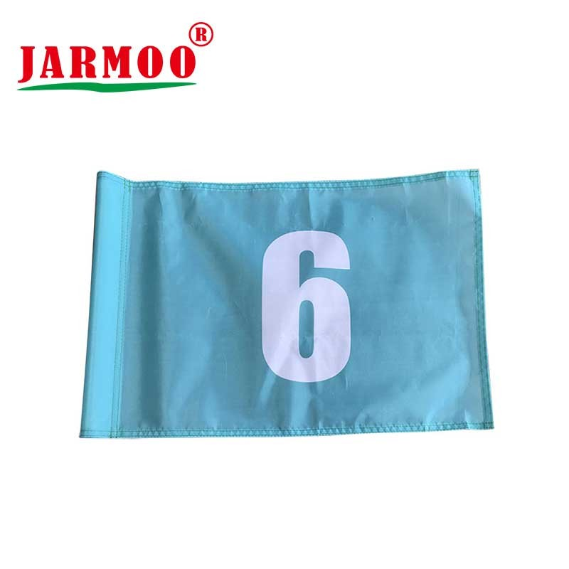 Custom Printed Advertising Promotion Golf Flags