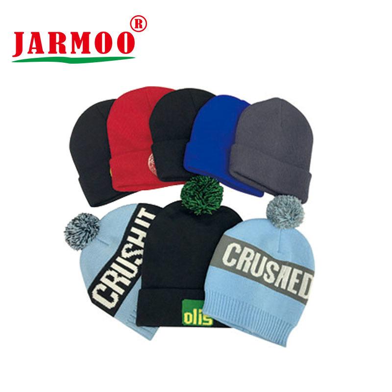 Custom Jacquard Embroidery Beanies Caps