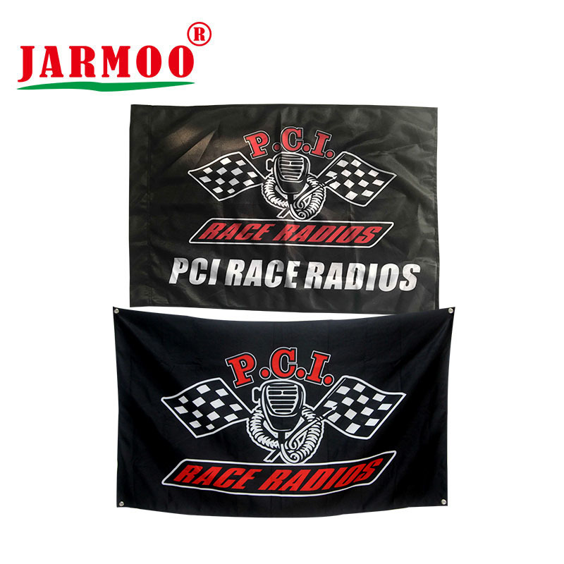 Custom Logo Flag - Double Sided