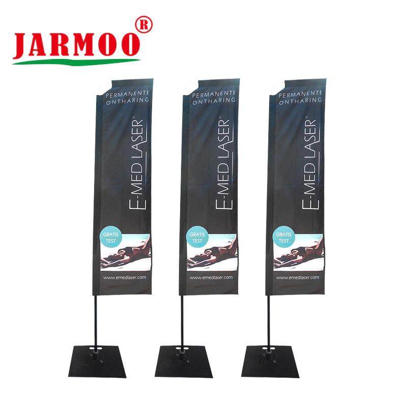 All Aluminum Custom Vertical Flag Kits with Custom Logo