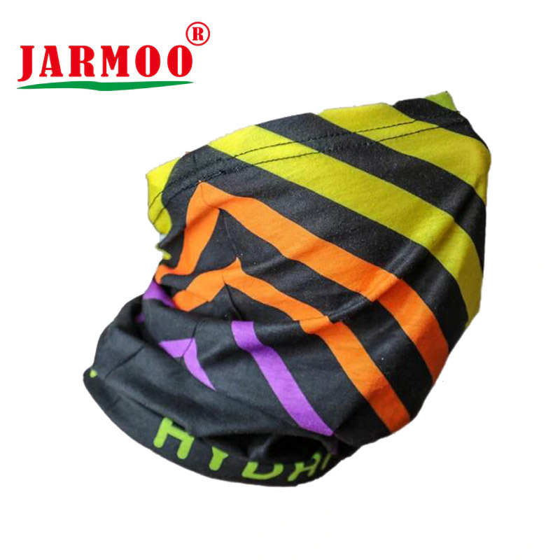 Sublimation Customized Printed Tube Bandanas With Seamed Ends