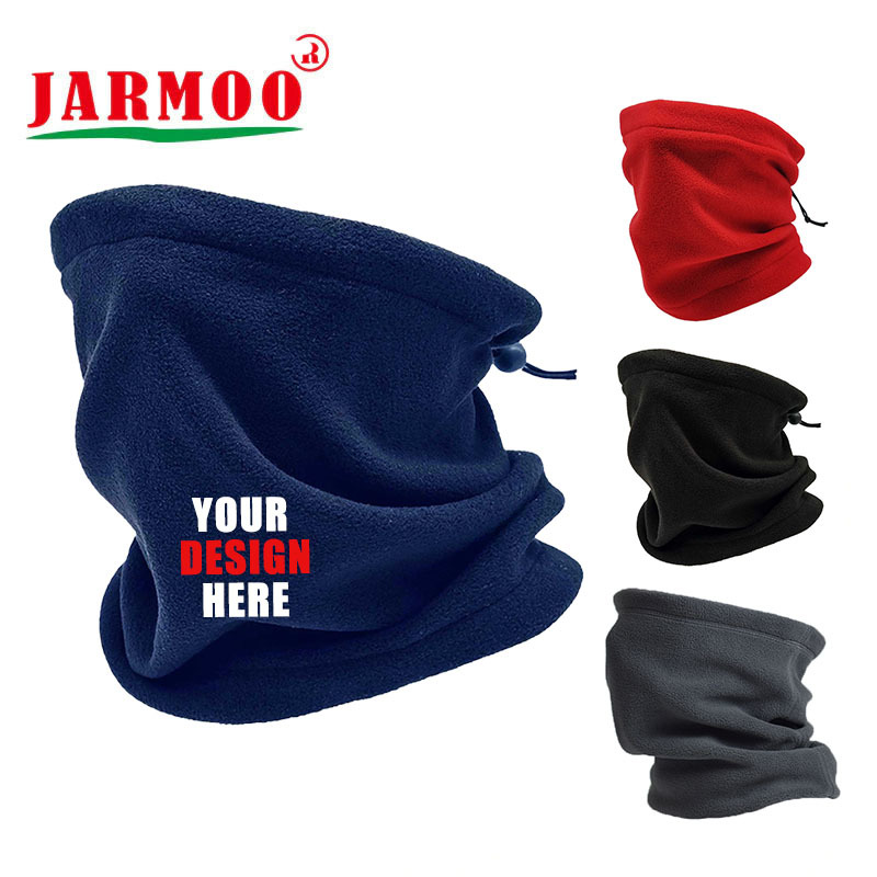 Custom Fleece Windproof Snood Neck Warmer For Cycling Ski