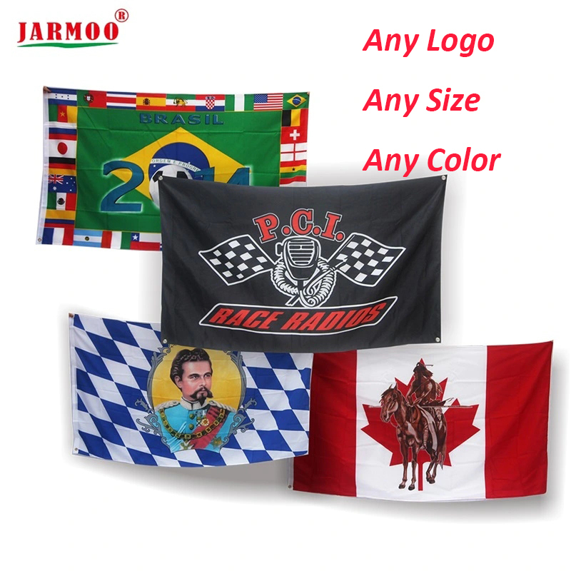 Advertising Club Campaign Polyester Custom Flag