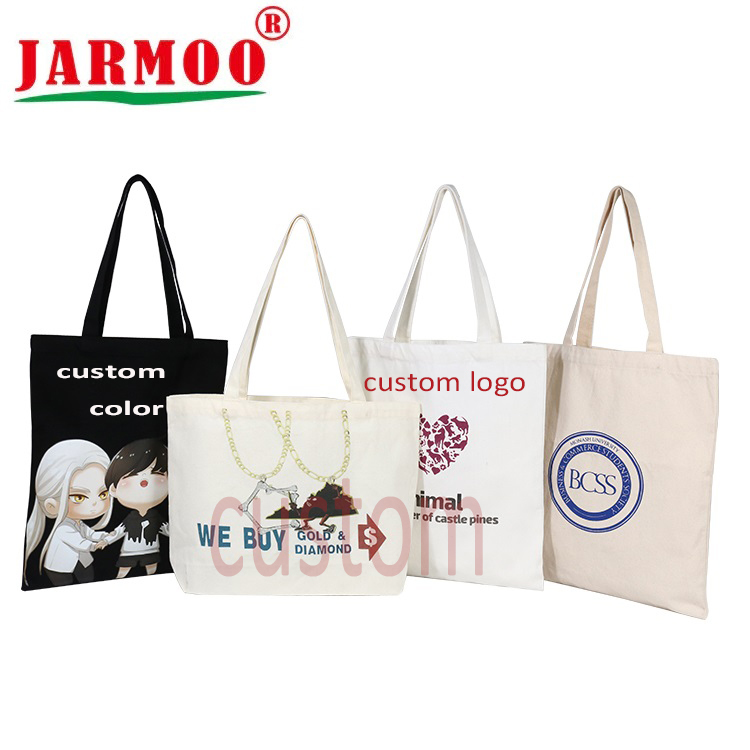 Eco-Friendly Reusable Shoulder Grocery Bags Custom Cotton Tote Bag