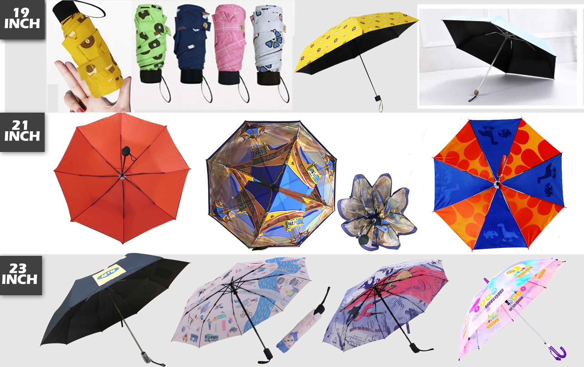 fold umbrella printing advertising umbrella