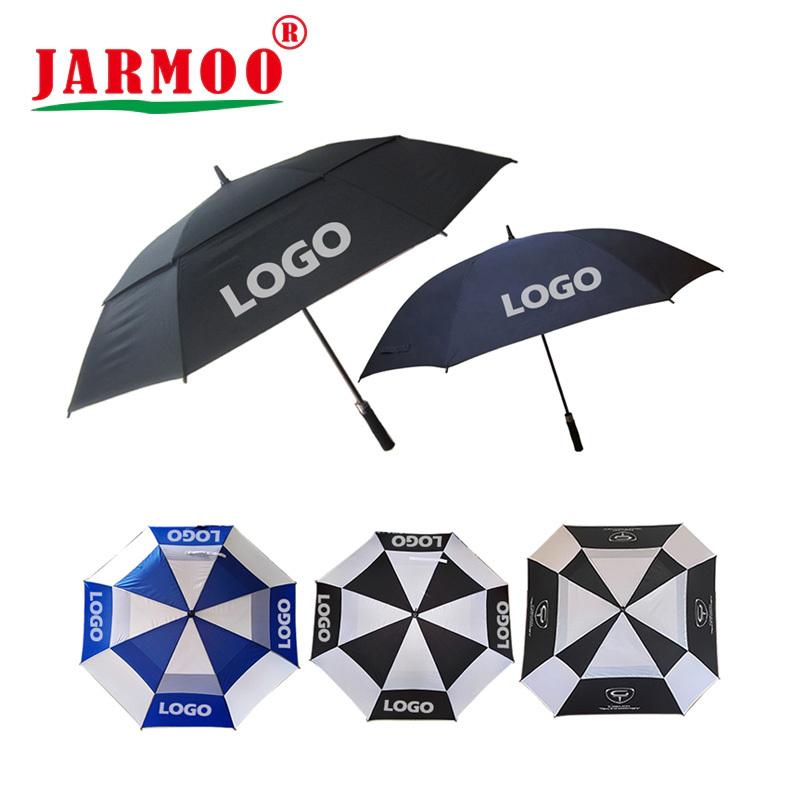 Factory Wholesale Personality Sublimation Golf Umbrella Custom Logo Prints Promotional Umbrella