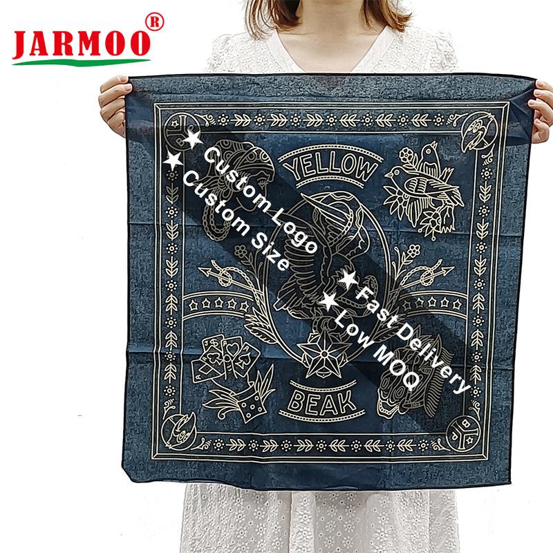High Quality Cotton Printed Bandanas Customized Bandanas with Logo