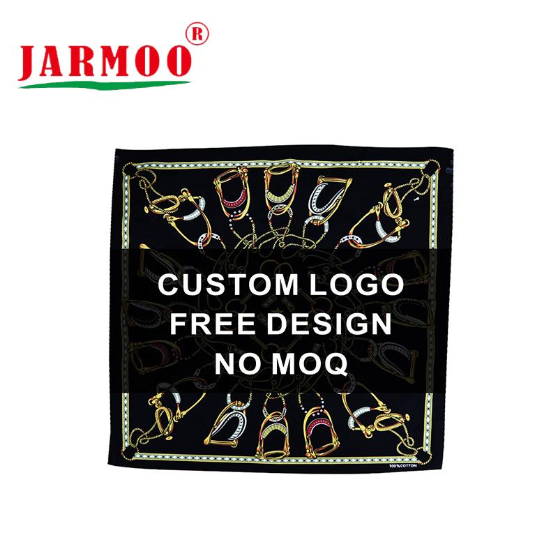 Custom Printed 100% Cotton or Polyester Cotton Cheap Bandanas
