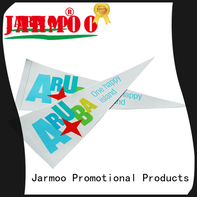 Jarmoo eco-friendly sports pennants manufacturer bulk production