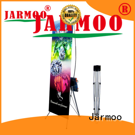Jarmoo quality roll up banner stand from China for business