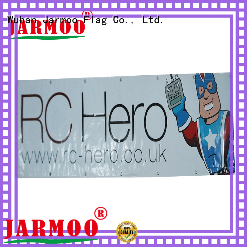 Jarmoo top quality bunting banner customized for promotion