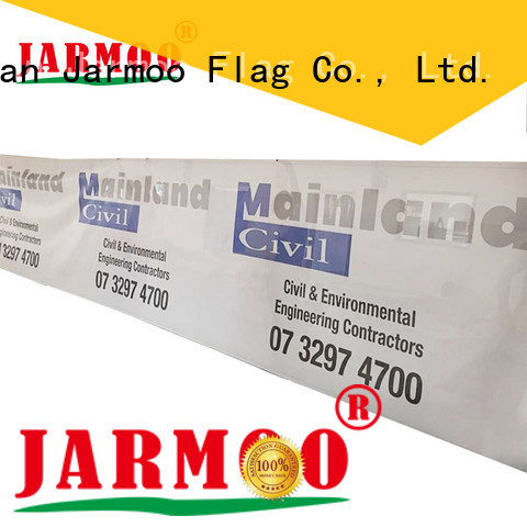 Jarmoo fabric bunting banner inquire now for promotion