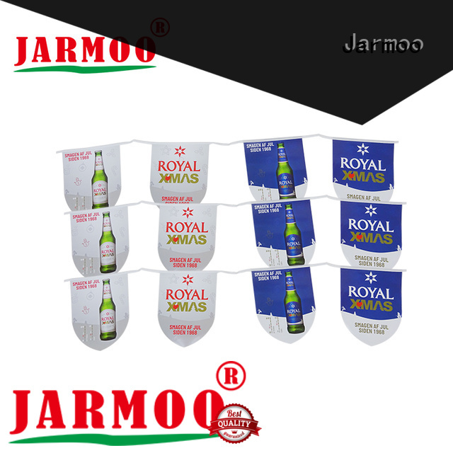 Jarmoo durable custom garden flag with good price bulk production