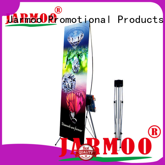 Jarmoo professional roll up banner stand personalized for promotion