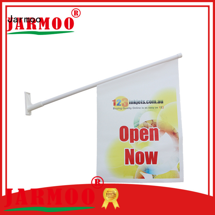 Jarmoo outdoor advertising flags customized for marketing