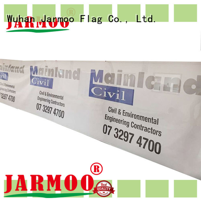 Jarmoo recyclable printed pvc banner factory price for business